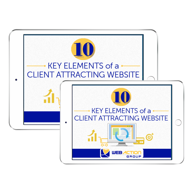 New Client attracting Website Features WebAction Group